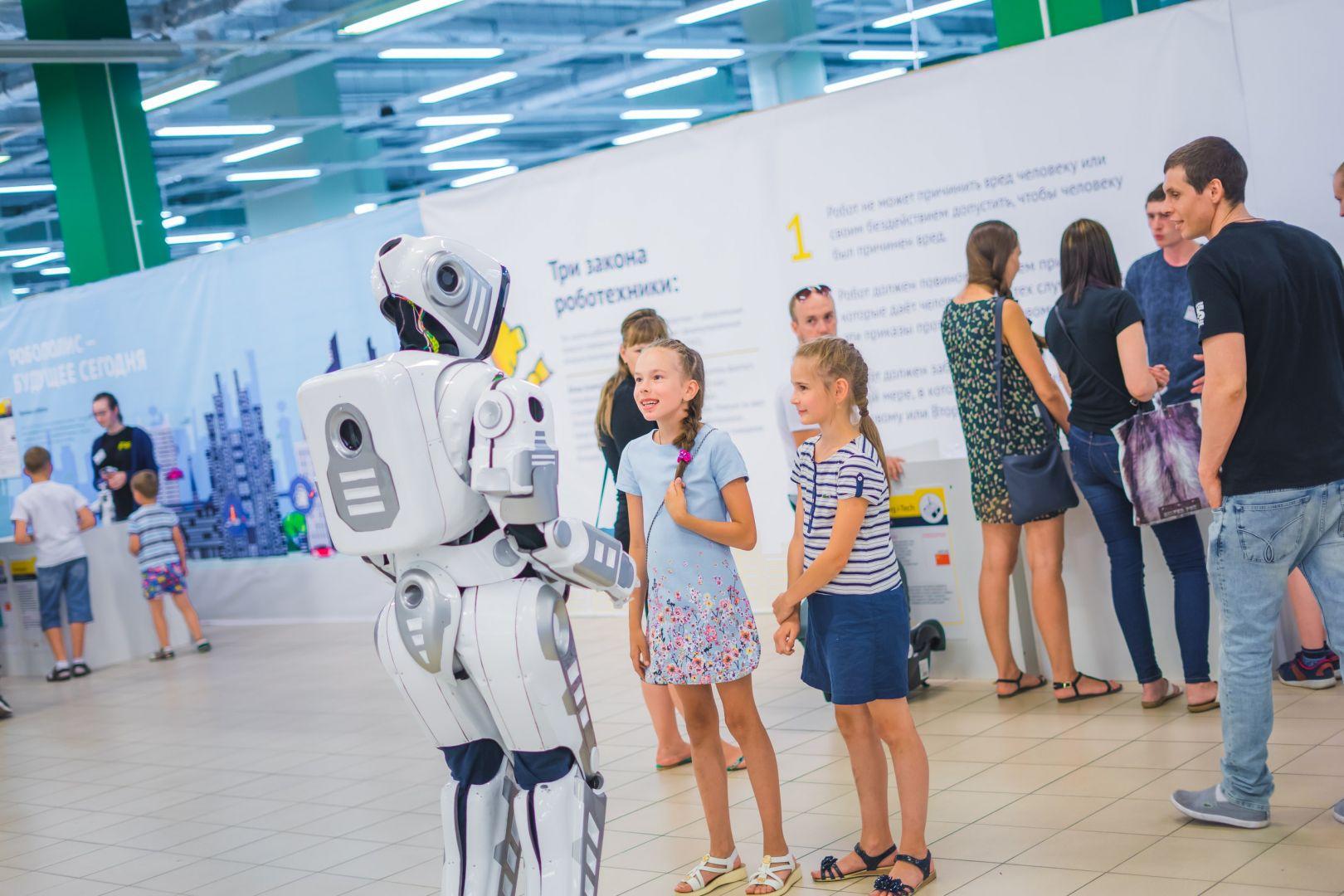 В Ставрополе встретились роботы со всего мира