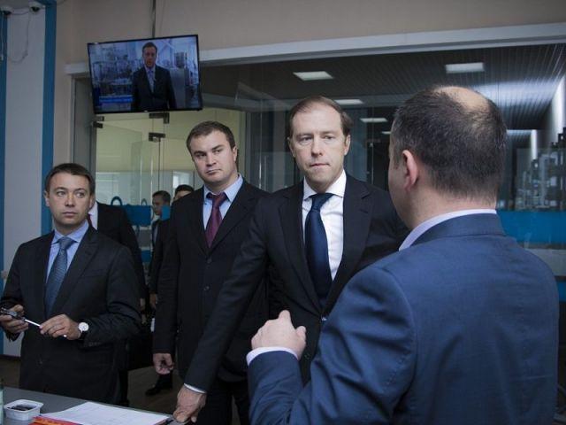 Министр промышленности и торговли России посетил предприятия Ставрополья