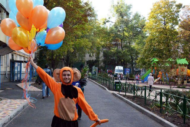 В Ставрополе жители «приняли в эксплуатацию» ещё один благоустроенный двор