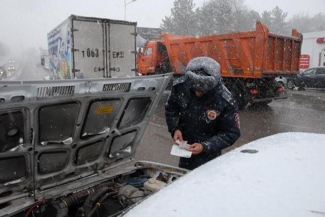 Краевая Госавтоинспекция в мероприятии «Таксист — Нелегал — 4» выявила около 1300 административных правонарушений