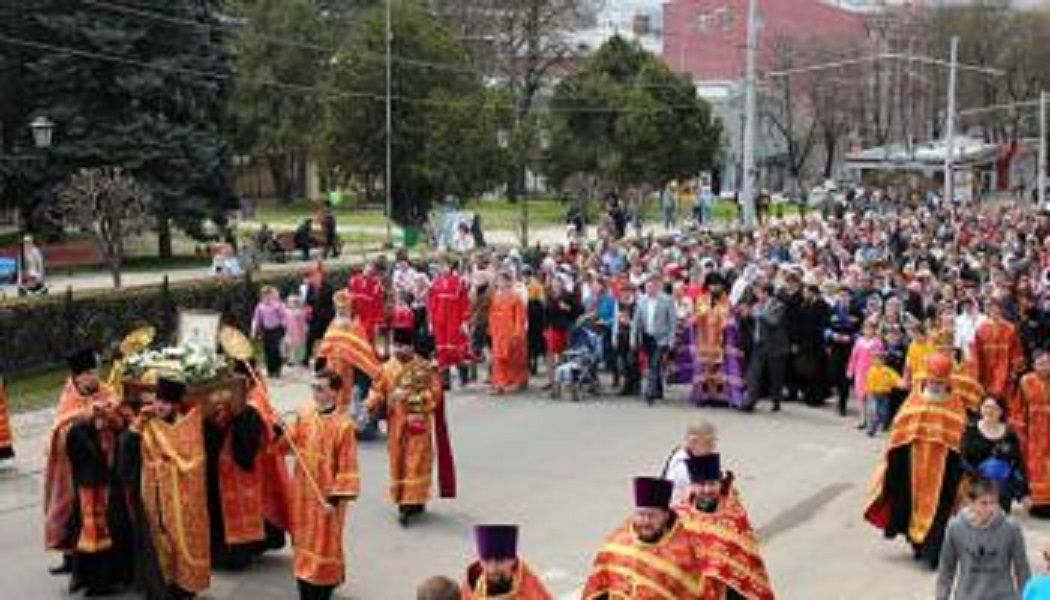 Пасхальный крестный ход пройдёт в Пятигорске