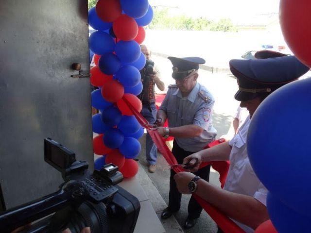 На Ставрополье открыли новое административное здание районной Госавтоинспекции