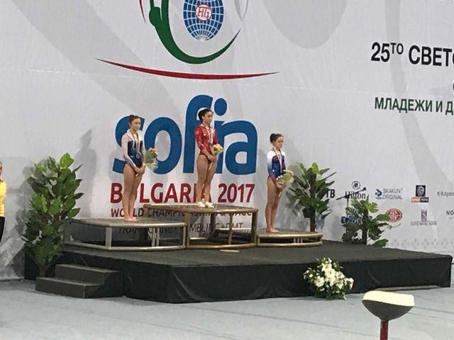 Акробатка Диана Браткова из Невинномысска стала лучшей в мире