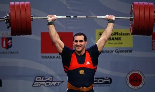 Ставропольский тяжелоатлет Давид Беджанян стал призёром чемпионата мира