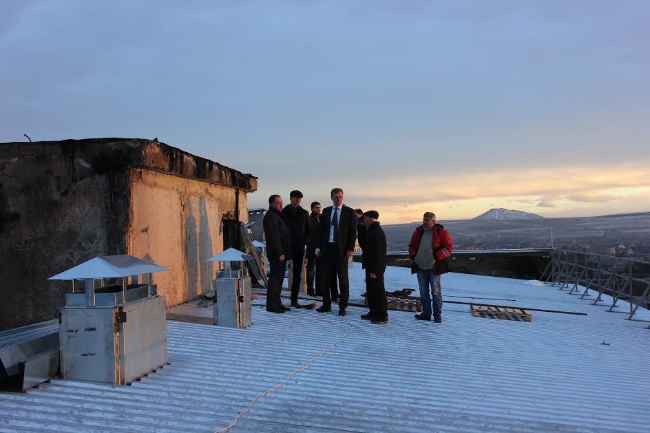 Погорельцам вЕссентуках дали новейшую крышу