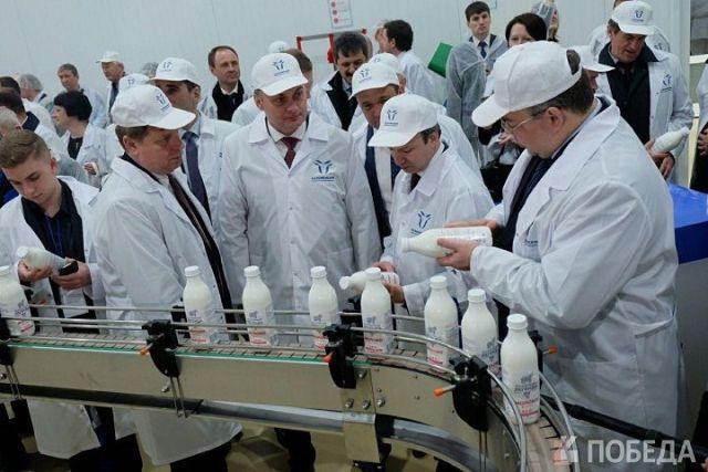 Новый современный молочный комбинат открылся на Ставрополье