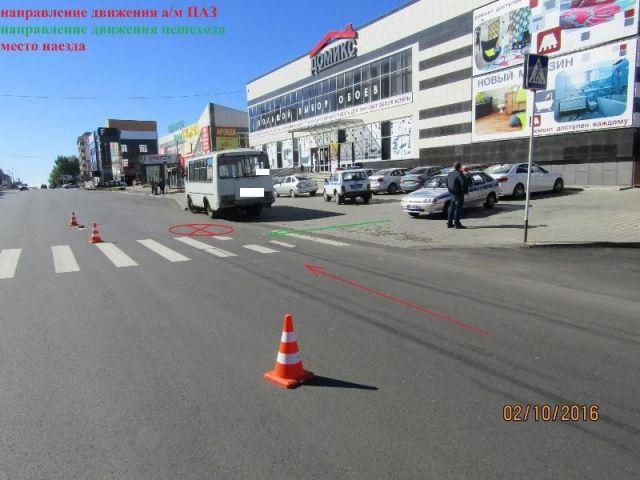В Ставрополе водитель «ПАЗа» сбил насмерть 74-летнего мужчину