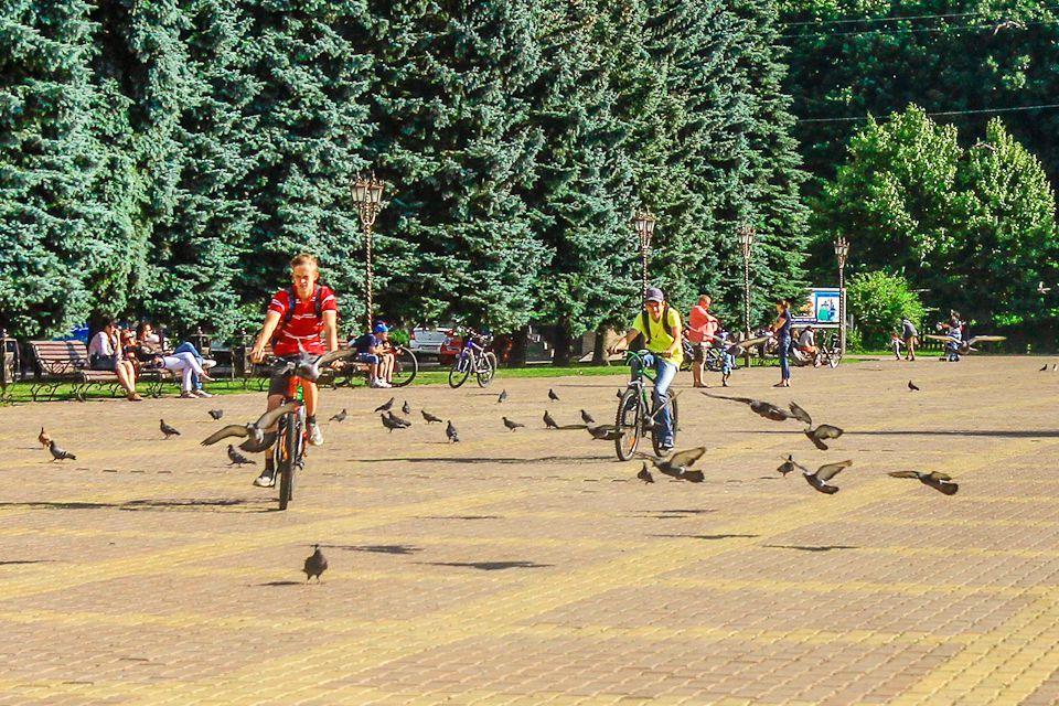 Велопробег организовали поотремонтированным улицам Ставрополя