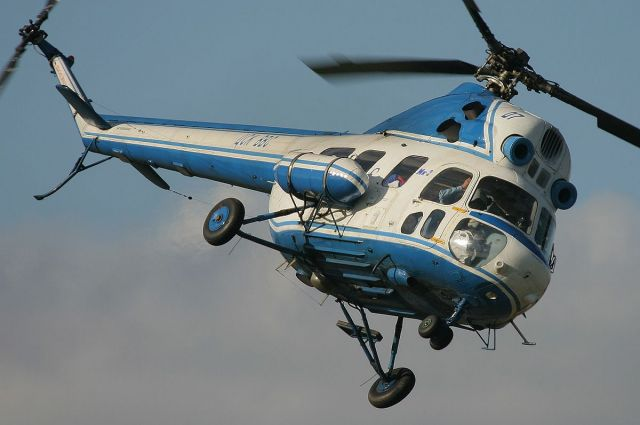 В Ставропольском крае упал вертолёт Ми-2