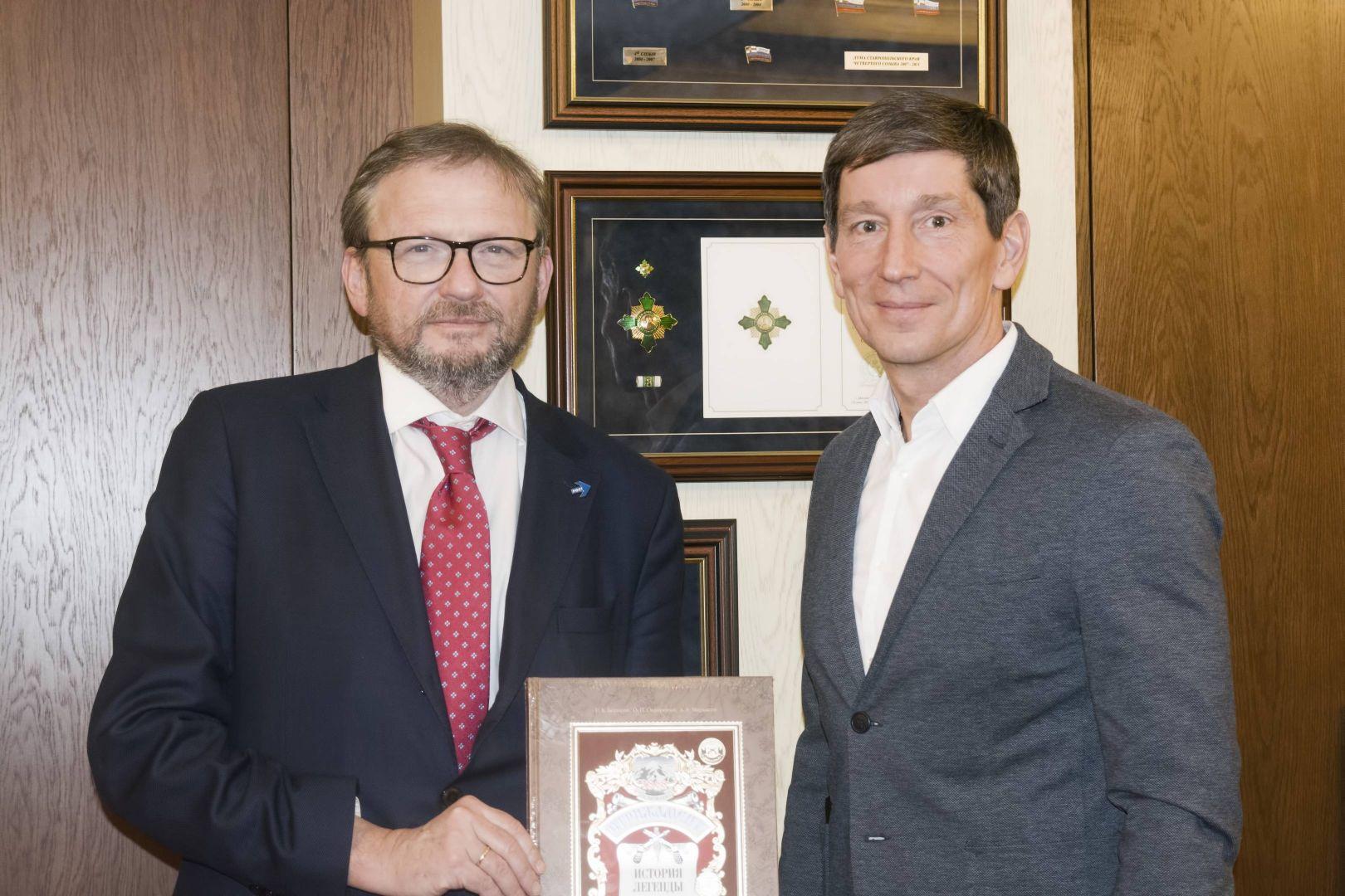 Ставрополье посетил уполномоченный при президенте РФ по защите прав предпринимателей Борис Титов