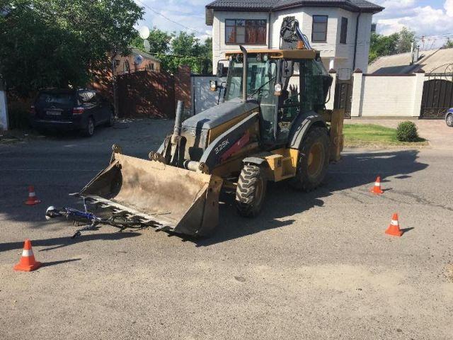 В Ставропольском крае водитель трактора столкнулся с велосипедистом