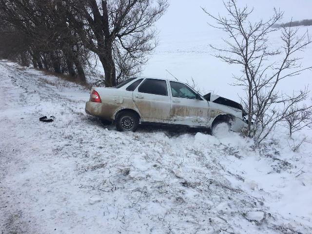 НаСтаврополье шофёр врезался вдерево, пострадали 4 человека