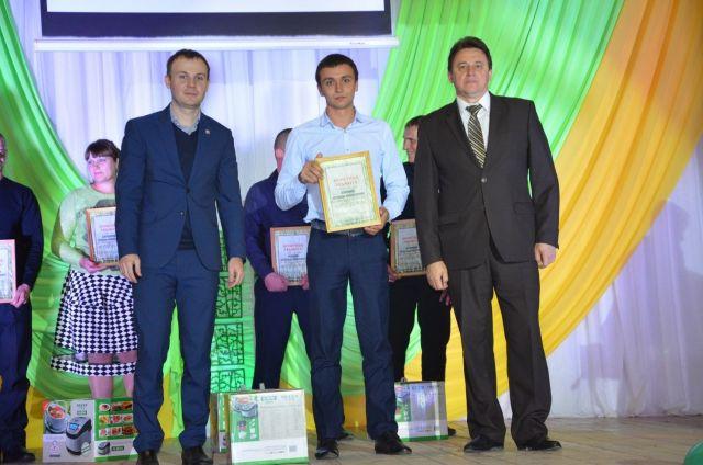 Лучшие молодые аграрии края получили награды