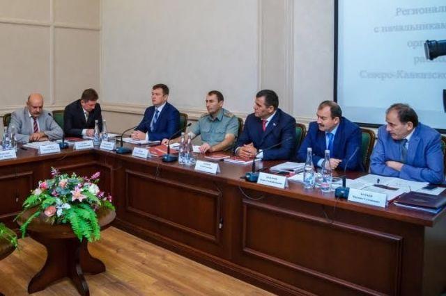 В Черкесске прошло региональное совещание начальников ФМС в СКФО