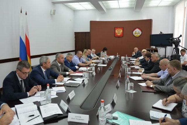 Сергей Меликов посетил срабочим визитом Республику Северную Осетию— Аланию