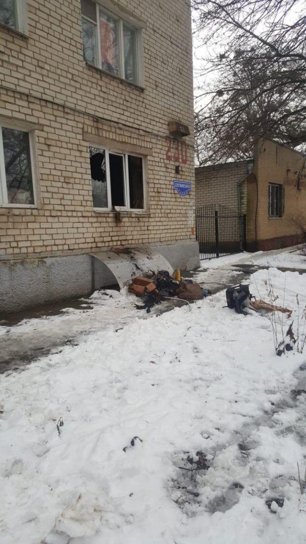 В Ставрополе на улице Дзержинского горела квартира