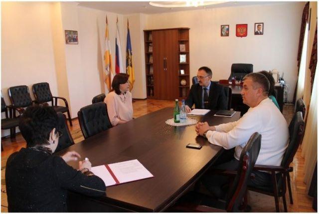 Министр образования и молодёжной политики Ставрополья посетил Кировский район
