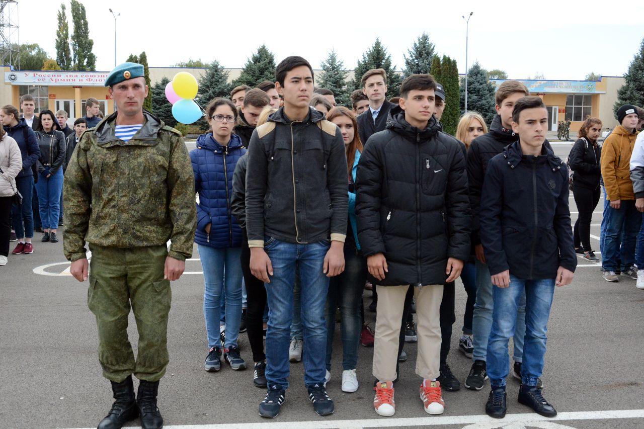 В Ставрополе прошёл День призывника