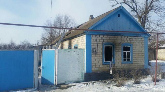На Ставрополье при пожаре пострадали двое детей