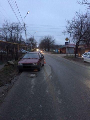 В Ставрополе водитель без прав сбил 8-летнего мальчика