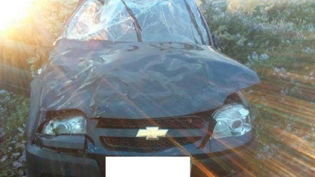 В Ставропольском крае в перевернувшемся внедорожнике погиб водитель