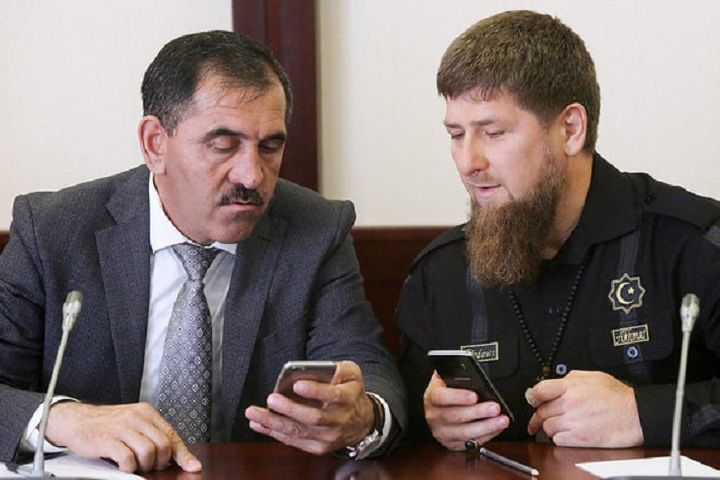 Ингушетия и Чечня подписали договор об изменении границ республик