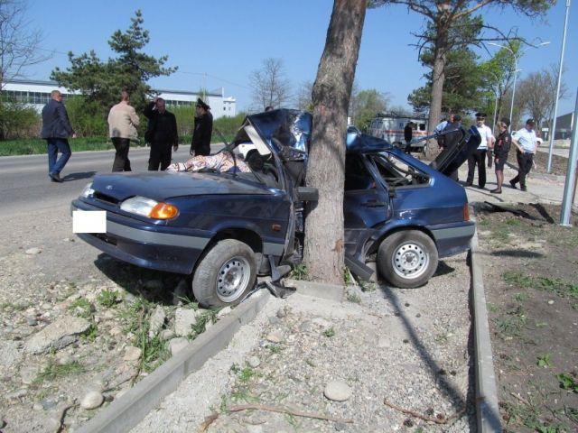 В Ставропольском крае в ДТП погиб молодой водитель