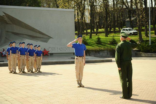 Юнармейский отряд 24-й гимназии Ставрополя признан лучшим
