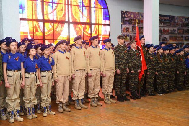 122 ставропольских школьника пополнили ряды «Юнармии»