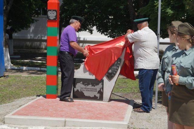 Ставропольские пограничники сделали стелу в честь 100-летия Пограничных войск