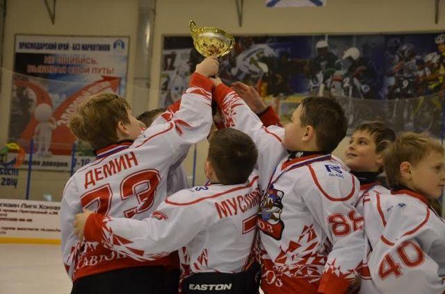 Юные ставропольские хоккеисты заняли второе место в турнире в Тихорецке