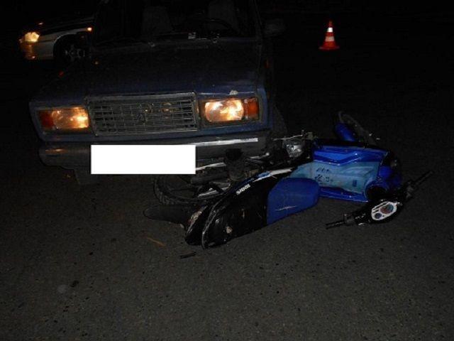 На Ставрополье двое детей на скутере получили серьёзные травмы