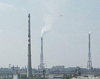 На химзаводе в Невинномысске произошел выброс диоксида азота