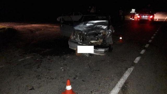 В Кочубеевском районе пассажирская «ГАЗель» столкнулась с легковушкой, есть пострадавшие