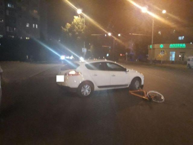 В Ставрополе водитель иномарки сбил велосипедиста