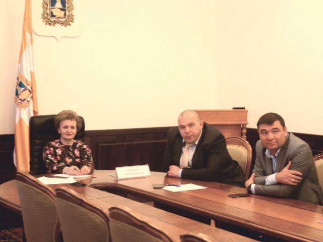 Комплексное развитие промышленной столицы Ставрополья обсудили чиновники