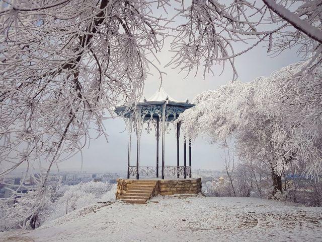 14 февраля на Ставрополье ожидается снег и гололедица