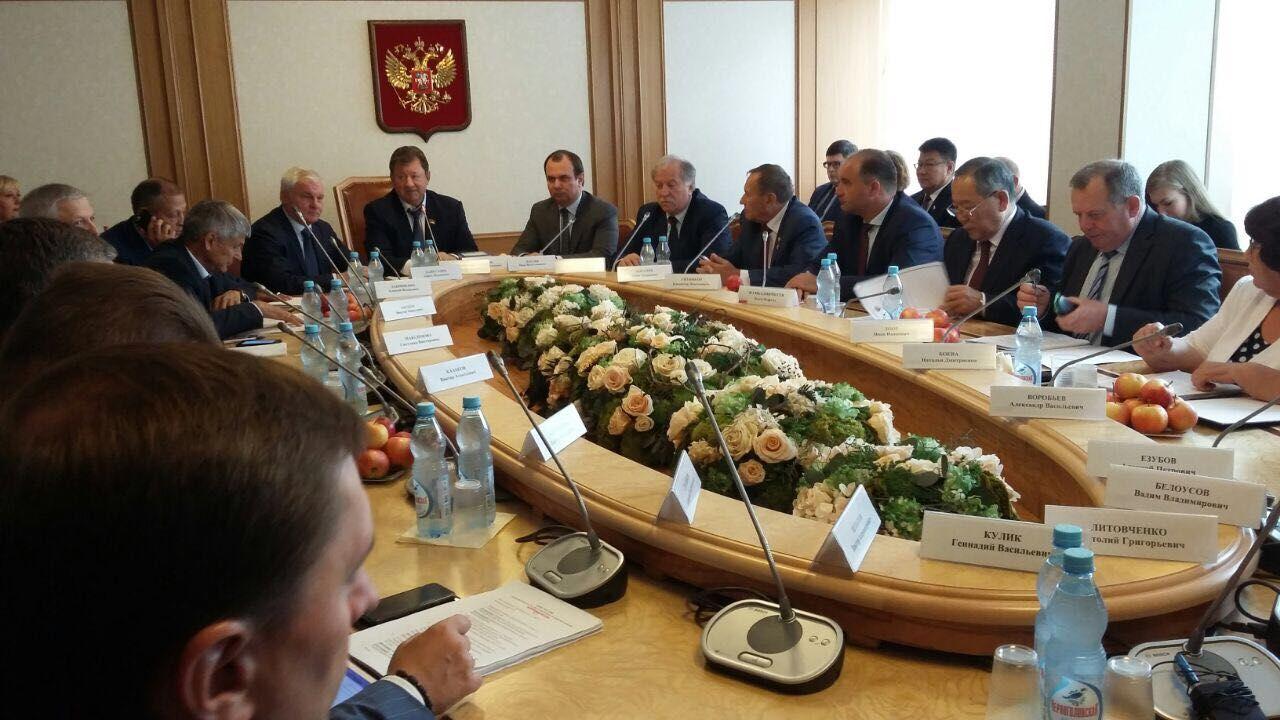 Достижения ставропольского АПК высоко оценили в Госдуме России