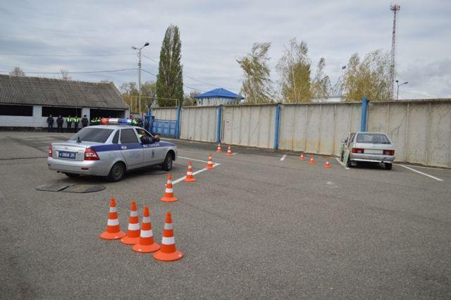 В Ставропольском крае открылся первый в России учебный полигон для обучения инспекторов ДПС