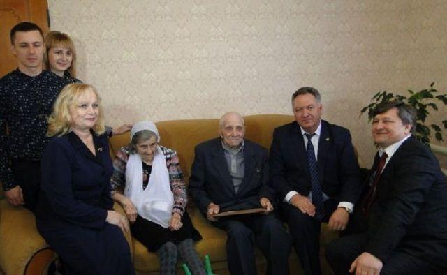 Супружеская пара на Ставрополье отметила 70-летие совместной жизни