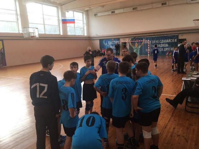 Ставропольские гандболисты – лучшие на Юге России