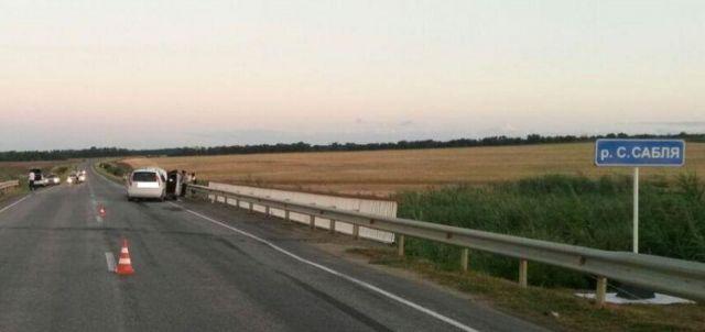 В Ставропольском крае в ДТП пострадали четыре человека