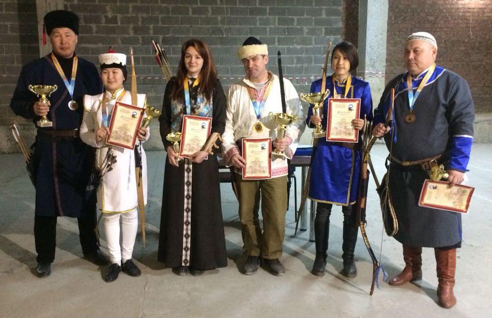 Ставропольские лучники стали победителями кубка Калмыкии по национальной стрельбе из лука