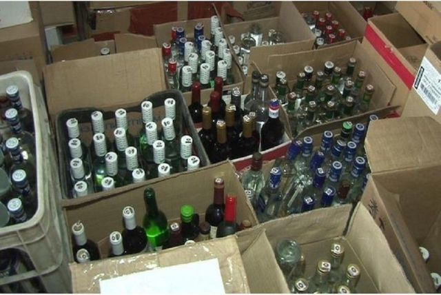 Крупную партию контрафактного алкоголя изъяли в Кочубеевском районе