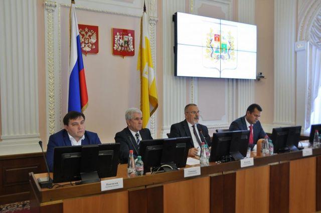 Председателем Ставропольской городской Думы седьмого созыва избран Георгий Колягин