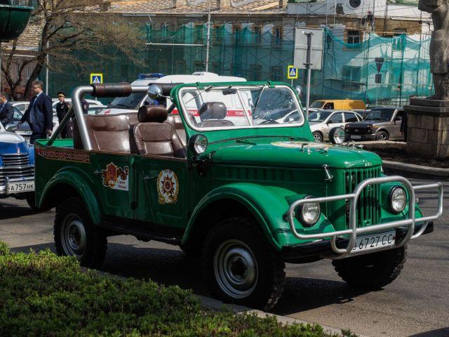 Краевой автопробег ко Дню Победы стартовал в Ставрополе
