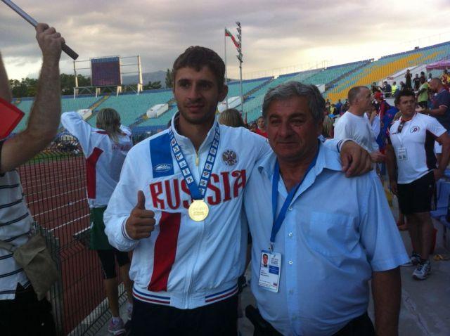 Ставропольский легкоатлет завоевал в Болгарии серебро