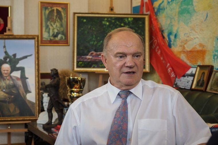 Глава Ставрополья Владимир Владимиров встретился с Геннадием Зюгановым