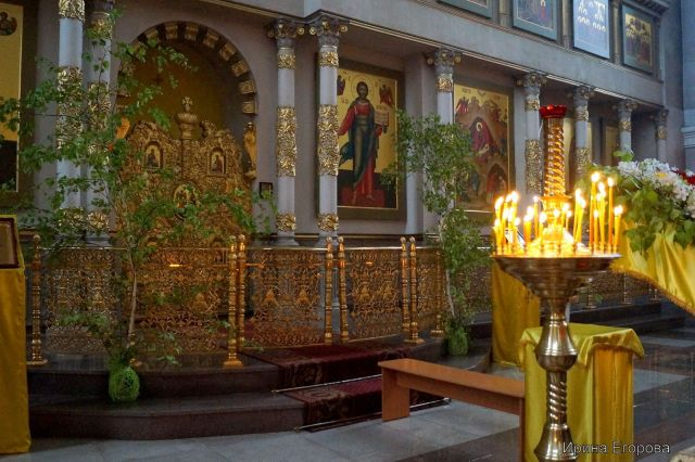 В Ставропольском крае православные отмечают Святую Троицу