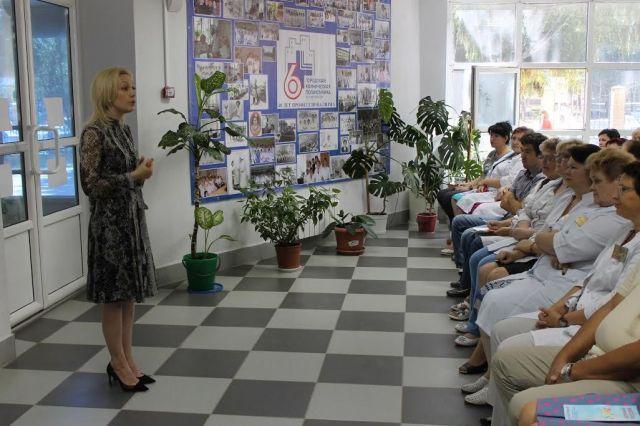 Ольга Тимофеева: Мывыполнили обещание. Вследующем году вЮго-Западном районе Ставрополя откроется новая поликлиника